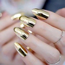 Load image into Gallery viewer, Revolutionary Gold Mirror Nail Art Tips