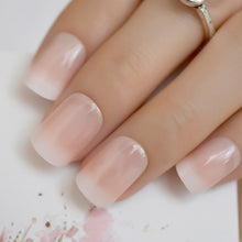 Load image into Gallery viewer, Beige Gradient French Manicure Tips