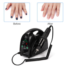 Load image into Gallery viewer, Strong 65w Electric Nail Drill 35000rpm Manicure Machine With LCD