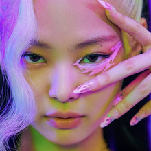 Load image into Gallery viewer, BLACKPINK Jennie's Press on Flame Flase Nail