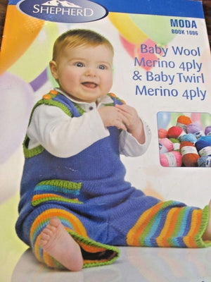 Baby Knitting Pattern Book