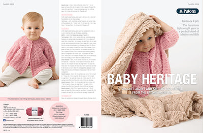 Baby Heritage Crochet and Knit Patterns