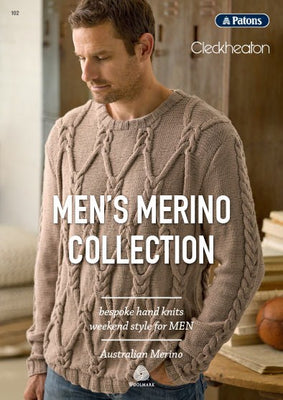 Mens Merino Collection Knitting Pattern Book