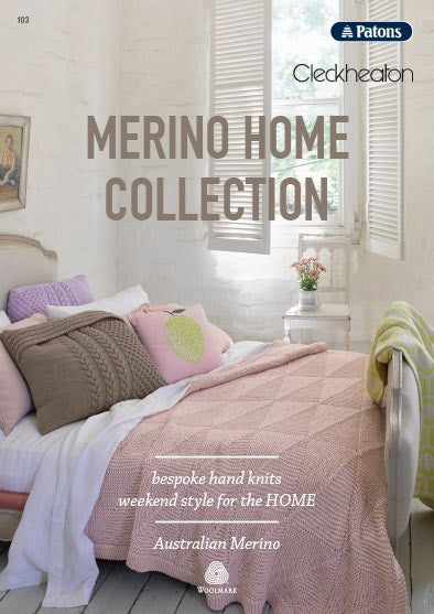 Merino Home Collection Pattern Book