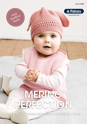 Merino Perfection Knitting Pattern Book