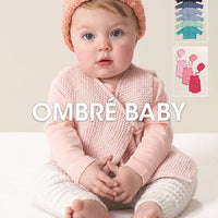 Ombre Baby Crochet & Knit Patterns