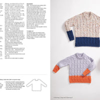 Kids Winter Wardrobe Knitting Pattern Book