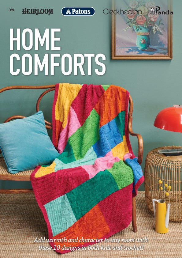 Home Comforts with Mixed Yarns, Knitting Pattern Book