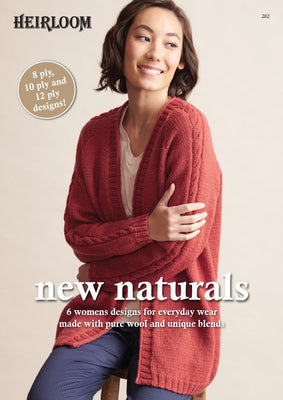 New Naturals Knitting Pattern Book