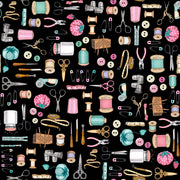 Everything Sewing - Black Fabric