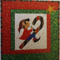 Painting the Candy Cane Quilt Pattern