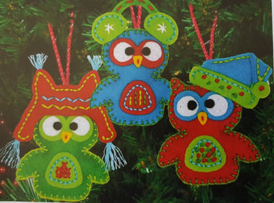 Whimsical Owl Ornaments