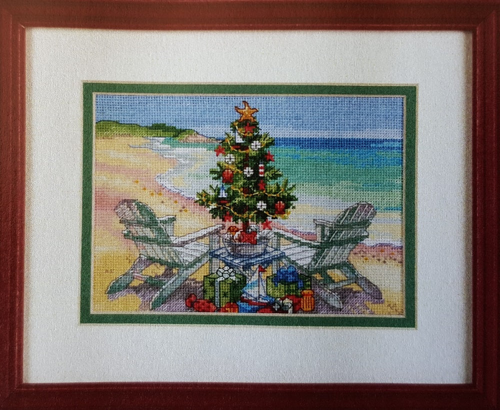 Christmas on the Beach Cross Stitch Kit