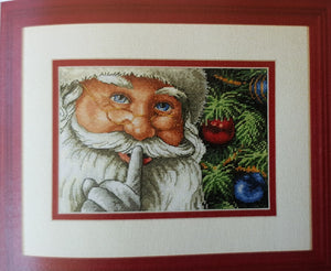 Santa's Secret Cross Stitch Kit