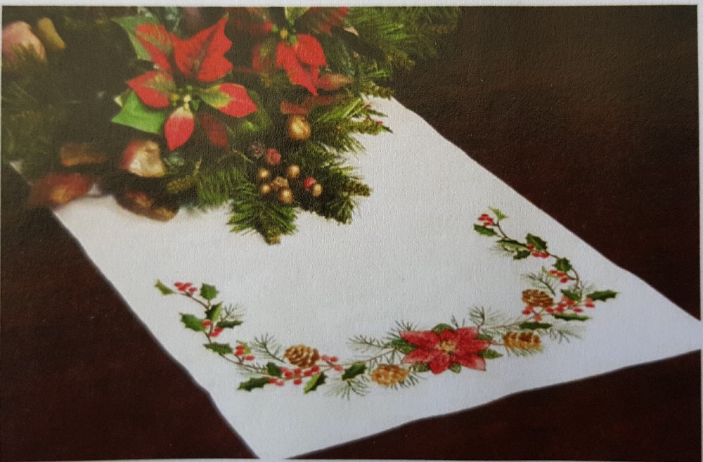 Christmas Table Runner Cross Stitch Kit
