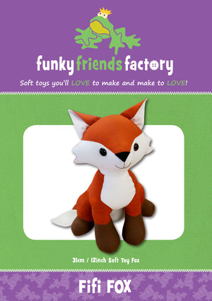 Fifi Fox Soft Toy Pattern