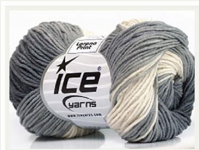 Lorena Print Shades Cotton Yarn