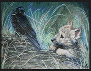 First Play Date Raven & Wolf Cross Stitch Pattern
