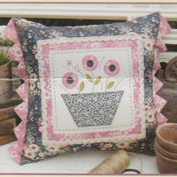 Flower Bee Cushion Pattern