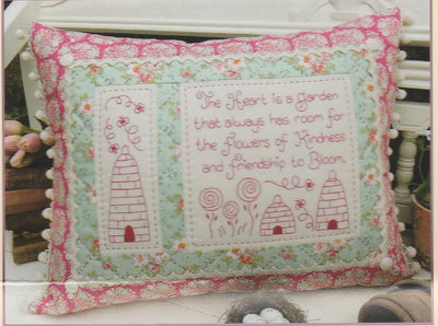 Flowers of Kindness Cushion Pattern