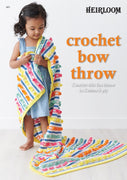 Crochet Bow Throw