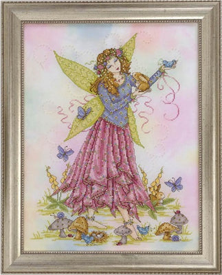 Spring Fairy Cross Stitch Pattern