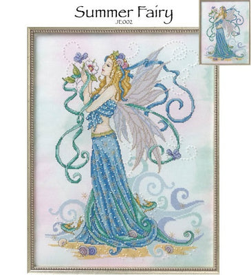 Summer Fairy Cross Stitch Pattern