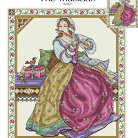 The Musician Cross Stitch Pattern
