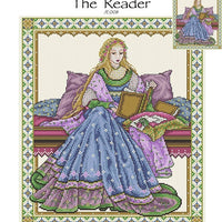 The Reader Cross Stitch Pattern