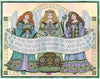 Celtic Angels Cross Stitch Pattern