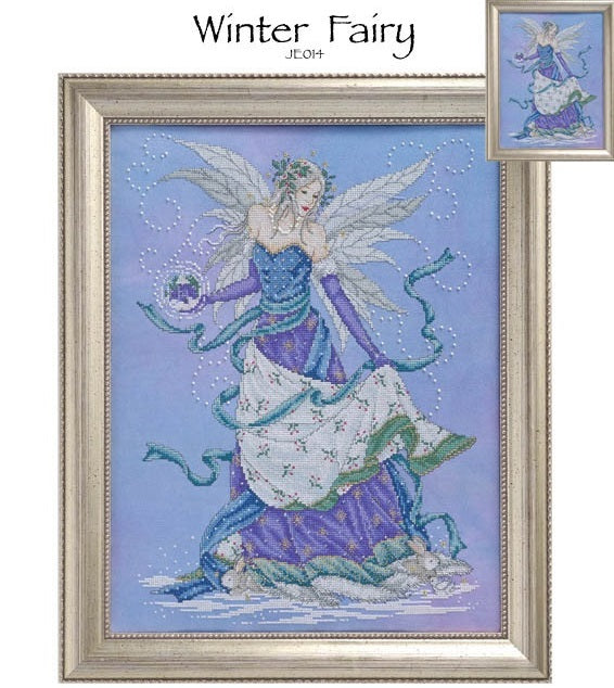 Winter Fairy Cross Stitch Pattern