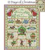 Days of Christmas Cross Stitch Pattern