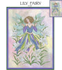 Lily Fairy Cross Stitch Pattern