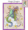 Magic Dragon Cross Stitch Pattern