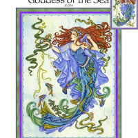 Goddess of the Sea Cross Stitch Pattern
