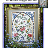Shakespeare's Garden Cross Stitch Pattern
