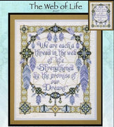 The Web of Life Cross Stitch Pattern