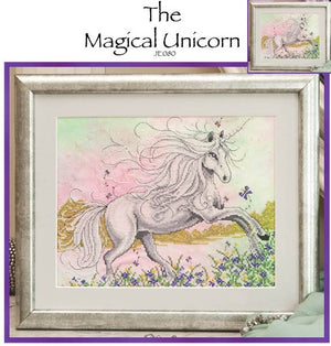 The Magic Unicorn Cross Stitch Pattern