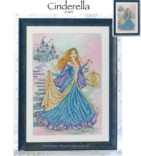 Cinderella Cross Stitch Pattern