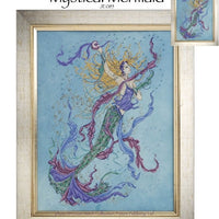 Mystical Mermaid Cross Stitch Pattern