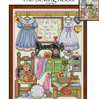 The Sewing Room Cross Stitch Pattern