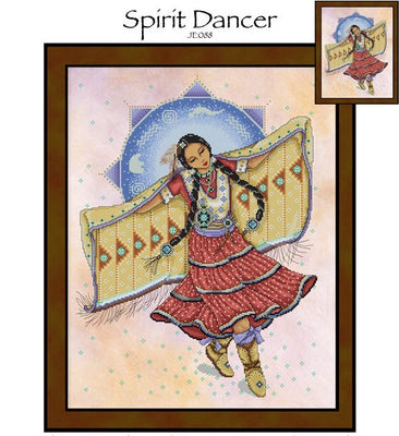 Spirit Dancer Cross Stitch Pattern