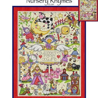 Nursery Rhymes Cross Stitch Pattern