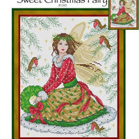 Sweet Christmas Fairy Cross Stitch Pattern