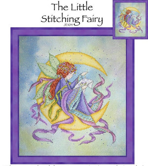 The Little Stitching Fairy Cross Stitch Pattern
