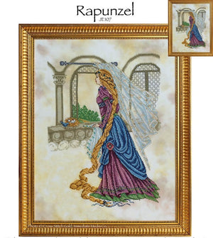 Rapunzel Cross Stitch Pattern