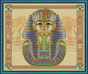 Tutankhamen Cross Stitch Pattern