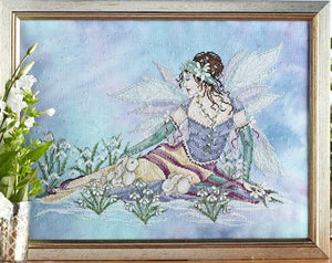 Snowdrop Fairy Cross Stitch Pattern