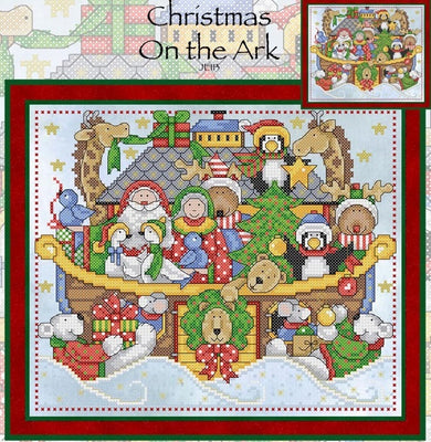 Christmas on the Ark Cross Stitch Pattern