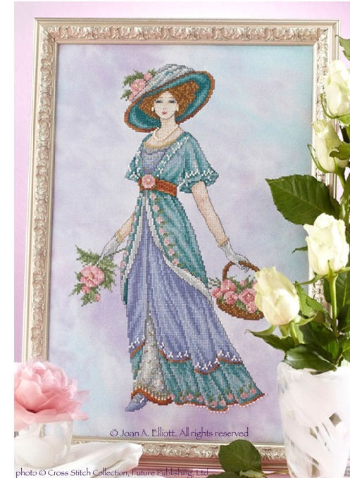 Edwardian Lady Cross Stitch Pattern